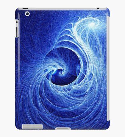 Abstract Full Moon Waves iPad Case/Skin
