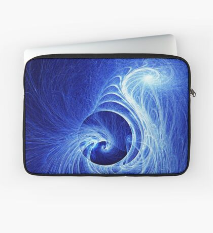 Abstract Full Moon Waves Laptop Sleeve