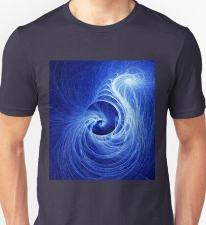 Abstract Full Moon Waves T-Shirt