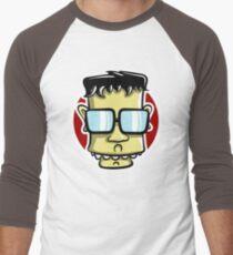 Geek face Men's Baseball ¾ T-Shirt