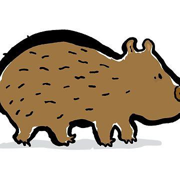 Wombat by greendeer