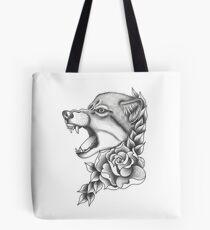 Canis lupus Tote Bag