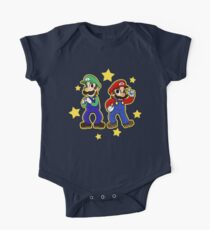 Mario Brothers One Piece - Short Sleeve