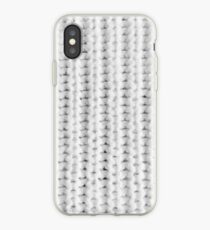 Minimal Knitted Pattern  iPhone Case