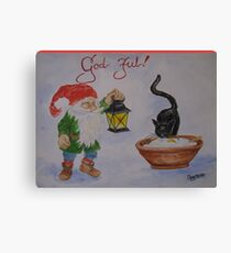 God Jul! Canvas Print