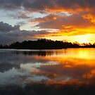 Dark Clouds at Sunrise by Jo Nijenhuis
