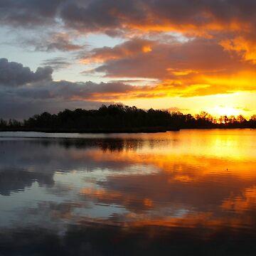 Dark Clouds at Sunrise by Jokus