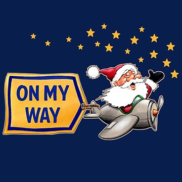 SANTA on his Way by Colette-vd-Wal