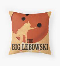 The Big Lebowski - Bowling Throw Pillow