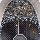 Wrought Iron Door, Palau Guell, Barcelona by wiggyofipswich