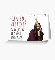 Tarjeta de felicitación Citas 1 de Jonathan Van Ness de Ojo raro, tarjetas de felicitación divertidas
