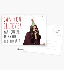 Queer Eye Jonathan Van Ness Quotes 1, meme greeting cards Postcards