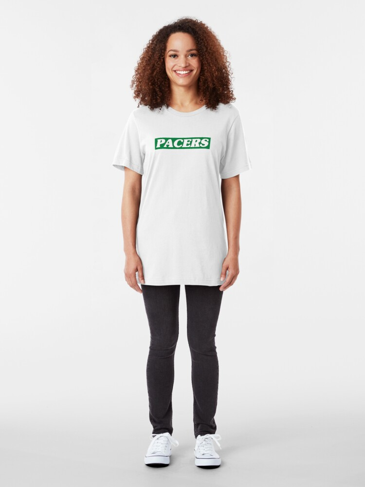 Alternate view of Pacers - the mints formerly known as Opal Mints Slim Fit T-Shirt
