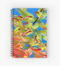 Two-tone Grevillea Spiral Notebook