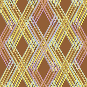 The pattern is made of repeating lines that make by NataliaL
