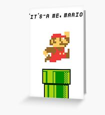 It's-a me, Mario! Greeting Card