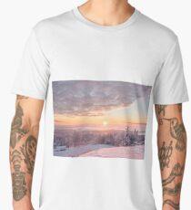 Misty winter morning Men's Premium T-Shirt