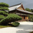 Kinkakuji Temple Grounds by Morphio