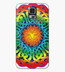 Sun Celtic Mandala Case/Skin for Samsung Galaxy