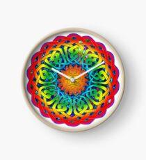 Sun Celtic Mandala Clock