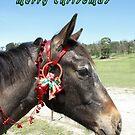 Elle's Christmas Card #2 by skyhorse