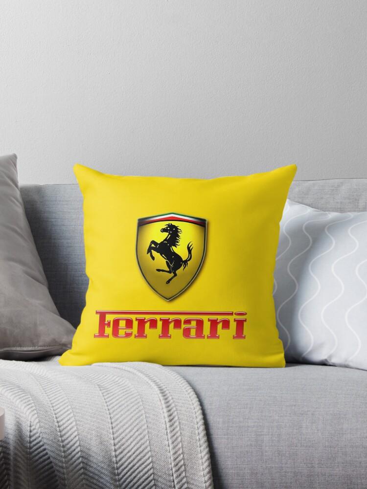 Gelbes Ferrari-Logo von ArmandDaniels