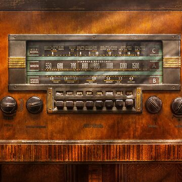 Americana - Radio - Remember what radio was like by mikesavad