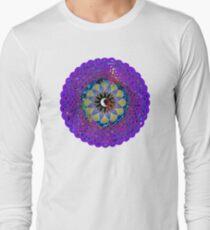 Man in the Moon Celtic Mandala Long Sleeve T-Shirt
