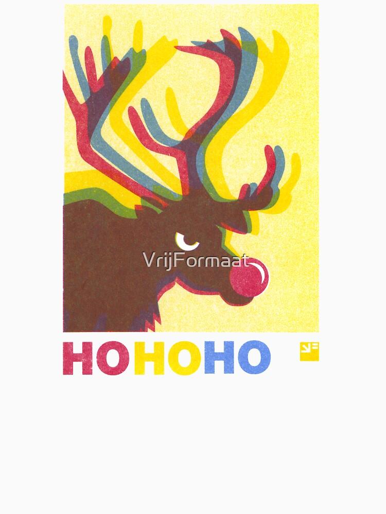Angry Animals: Rudolph HO HO HO by VrijFormaat