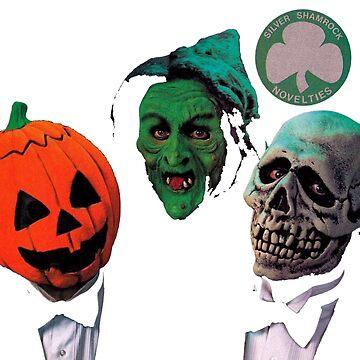 Halloween III - Silver Shamrock by SynthSkin