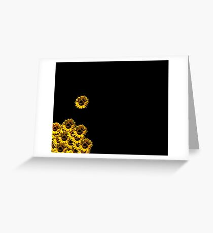 I Am Here......See Me......Let Me Be Free. Greeting Card