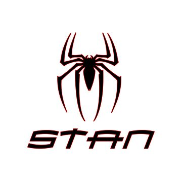 Personal design of the Spider with the Stan Lee on it by hypnotzd