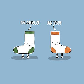 Single Socks by ValentinaHramov