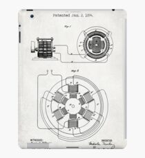 ELECTRICAL POWER TRANSMISSION patent iPad Case/Skin