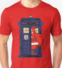 Christmas 1822 - Nicholas Visit The Blue Police Box 1 Unisex T-Shirt