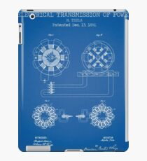 ELECTRICAL TRANSMISSION OF POWER  iPad Case/Skin