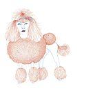 Weird poodles - Ginger dye by VrijFormaat