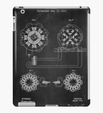 ELECTRICAL TRANSMISSION OF POWER chalkboard iPad Case/Skin