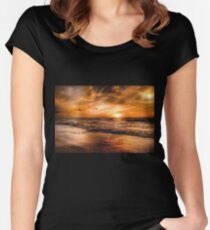 Strans sunset Women's Fitted Scoop T-Shirt