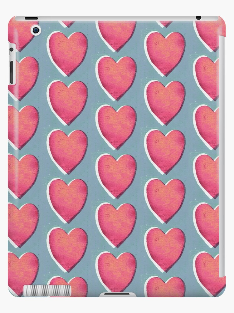 Heart Gelli-Print by ZoeFordCreates