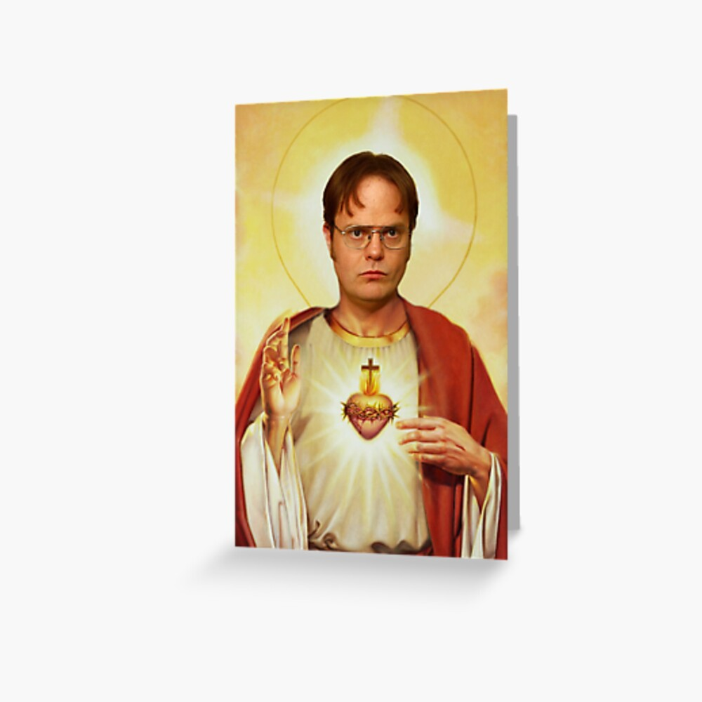 Heilige Dwight Grußkarte