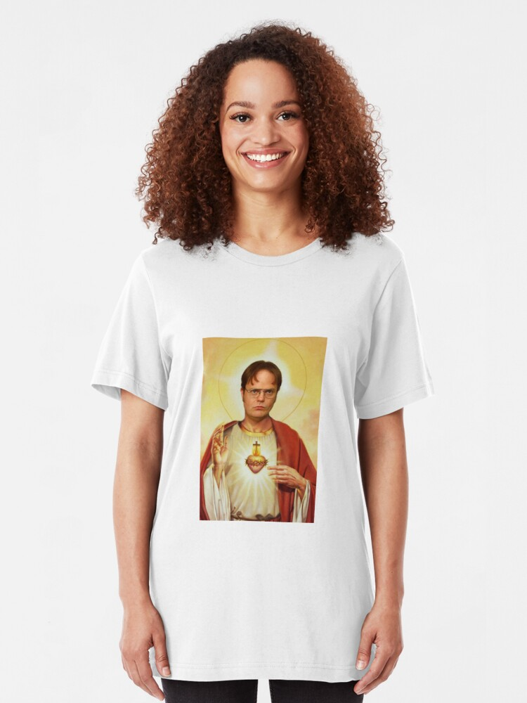 Alternative Ansicht von Heilige Dwight Slim Fit T-Shirt