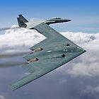 Northrop Grumman B-2 Spirit Stealth Bomber - RIAT 2017 by Colin  Williams Photography