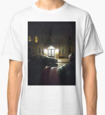 #Night, #NewYork, #Manhattan, #Brooklyn, #NewYorkCity, #architecture, #street, #building, #tree, #car Classic T-Shirt