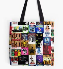 Musicals Collage III Tote Bag