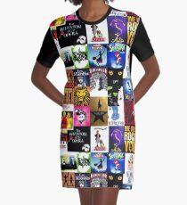 Musicals Collage III Graphic T-Shirt Dress