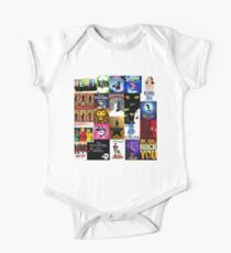 Musicals Collage III Short Sleeve Baby One-Piece