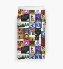 Musicals Collage III Duvet Cover