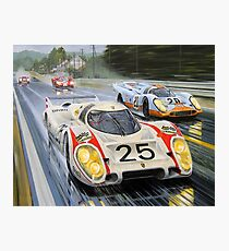 Le Mans Photographic Print