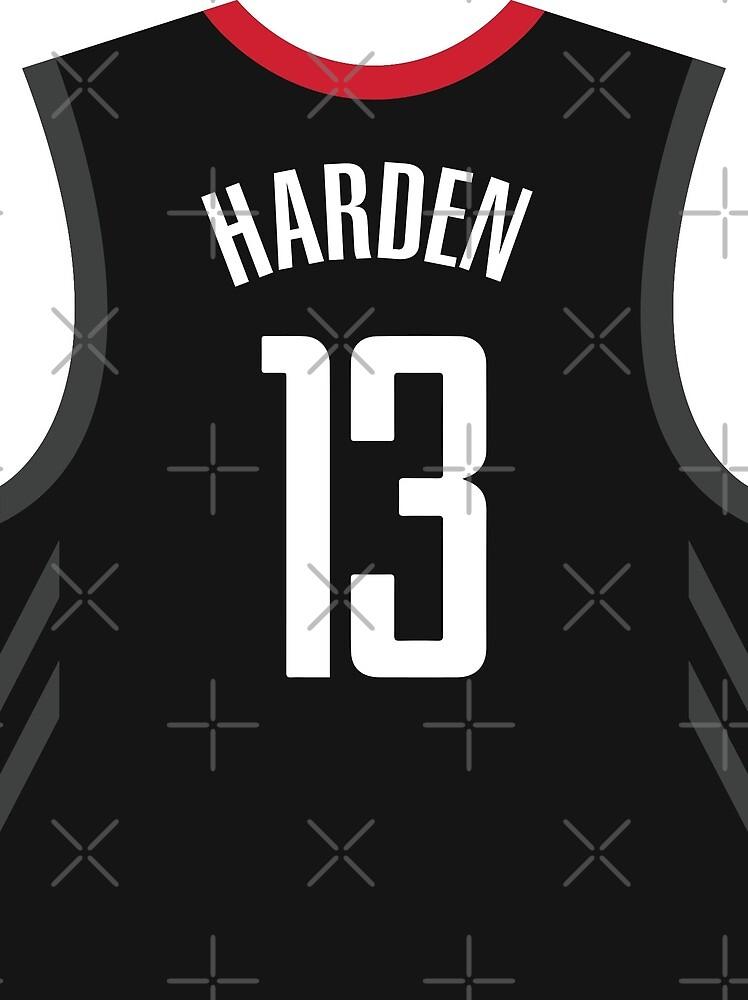 promo code 77dbf 44980 James Harden Black Rockets Jersey
